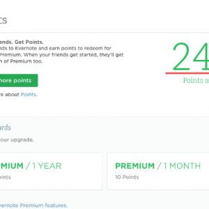New Evernote premium account, 80% off, cheaper than student discount